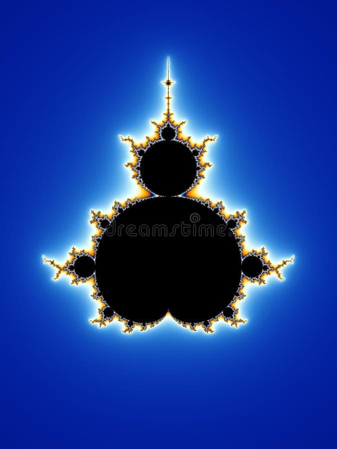 fractalmandelbrot royaltyfri illustrationer