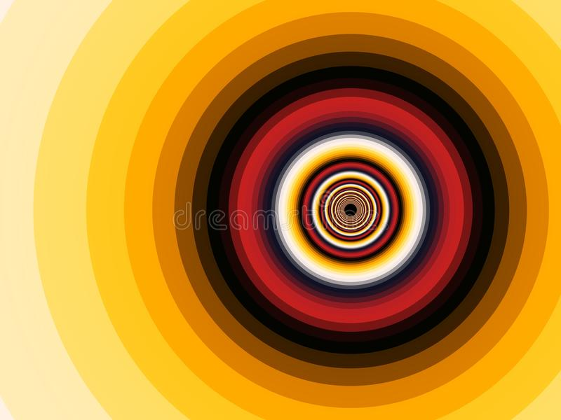 Fractalspirale vektor abbildung