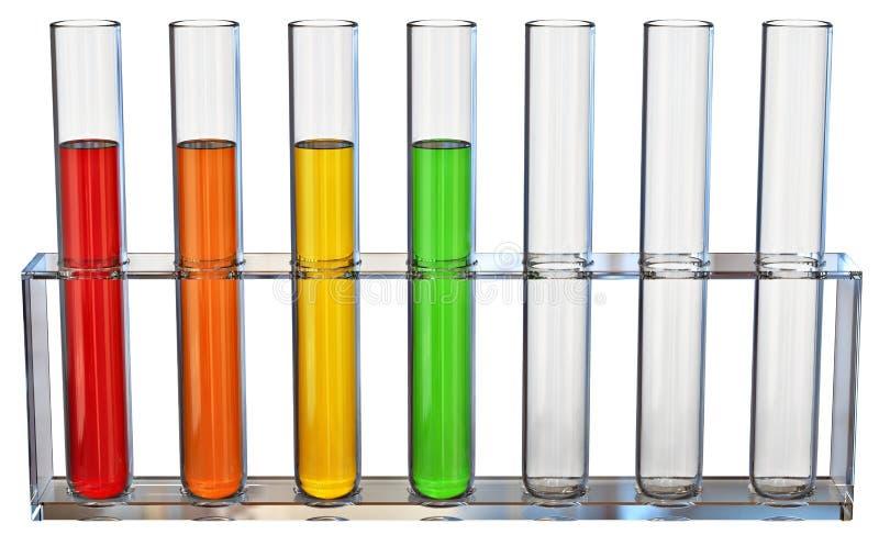 Fracties van olie vector illustratie