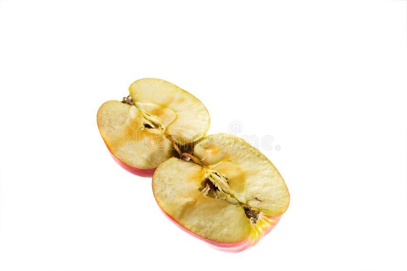 fractionnement de pomme photos libres de droits