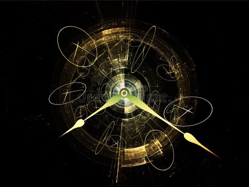Fractions de temps illustration de vecteur