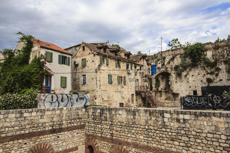 Fractura, Croacia foto de archivo