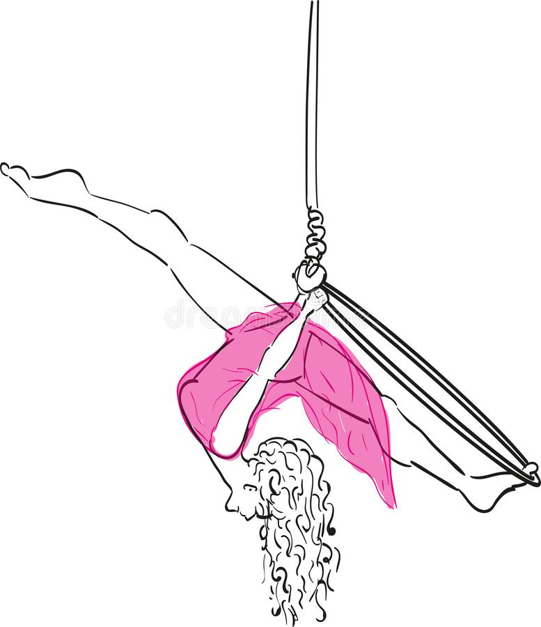 Fractura de Aerialhoop libre illustration