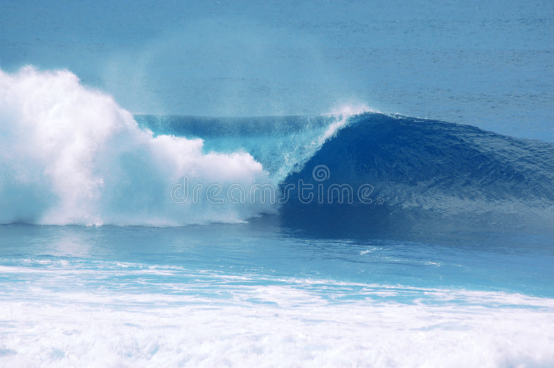 Fractura de la onda foto de archivo