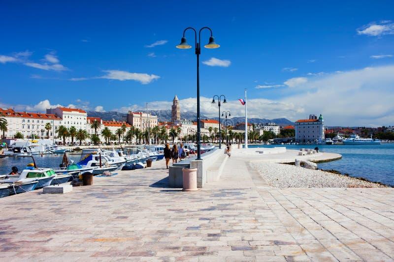 Fractura en Croatia fotos de archivo libres de regalías