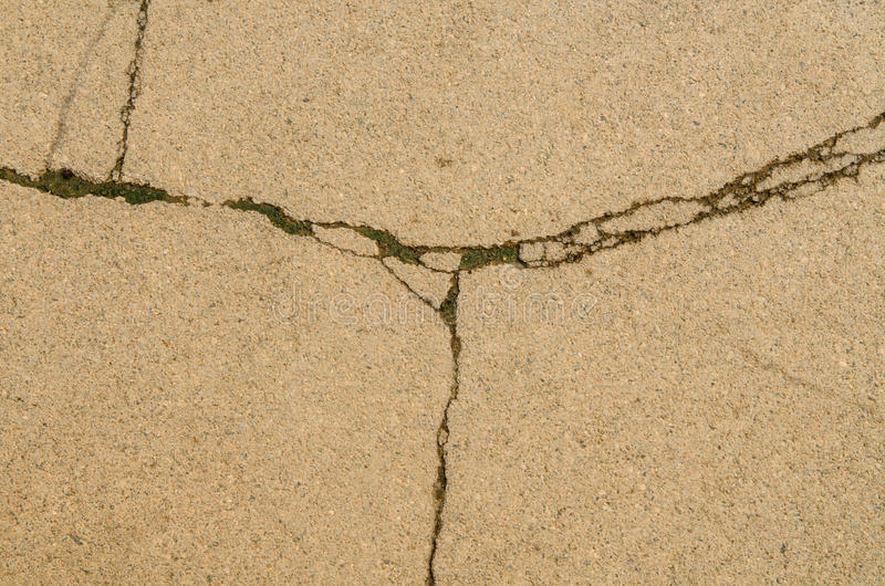 Fractured concrete surface background royalty free stock images