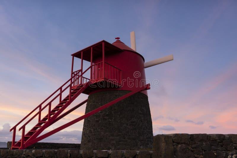 Frade Windmühle lizenzfreies stockbild