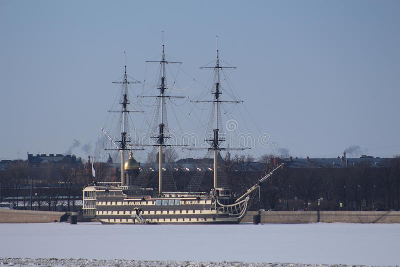Fragata imagen de archivo