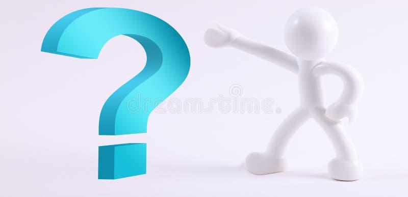 Download Frage stock abbildung. Illustration von getrennt, person - 12202817