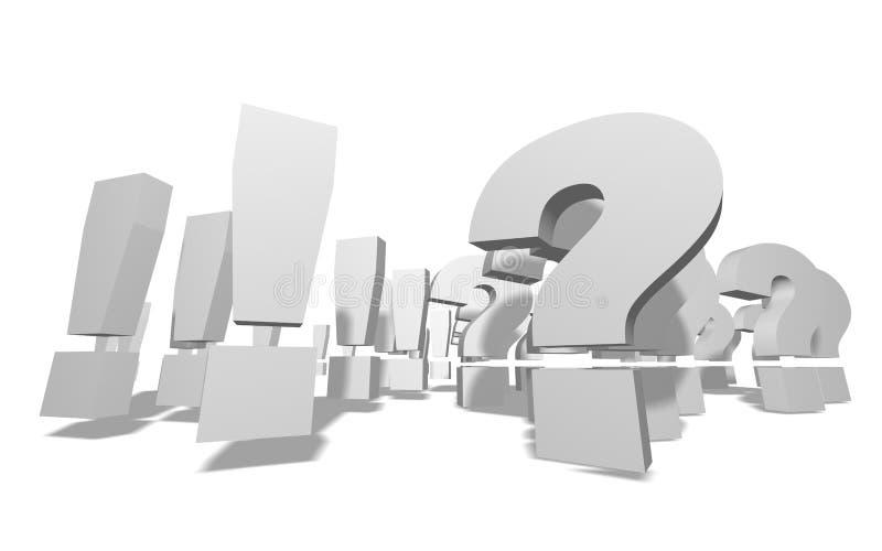 Frage!? lizenzfreie stockfotografie