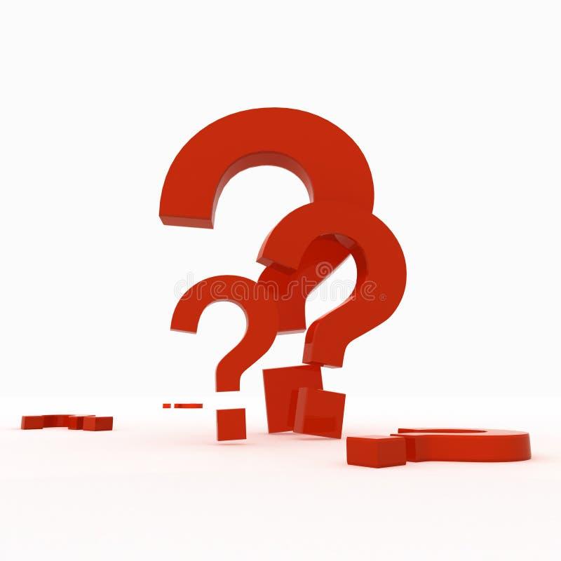 Fragen stock abbildung
