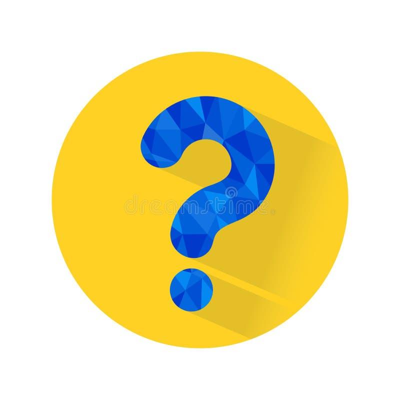 Fragezeichen, Quiz-Frage, FAQ, Puzzlespiel, Problem, suchender Rat, Verwirrung, unsicher, Technologiehintergrund vektor abbildung