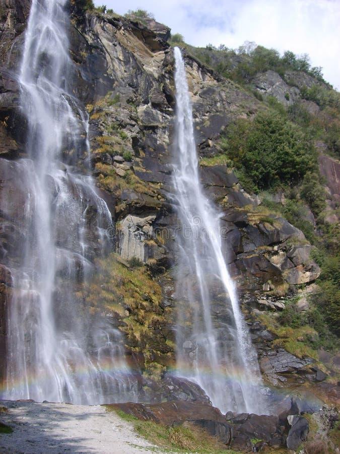Fraggia del acqua de las cascadas imagen de archivo