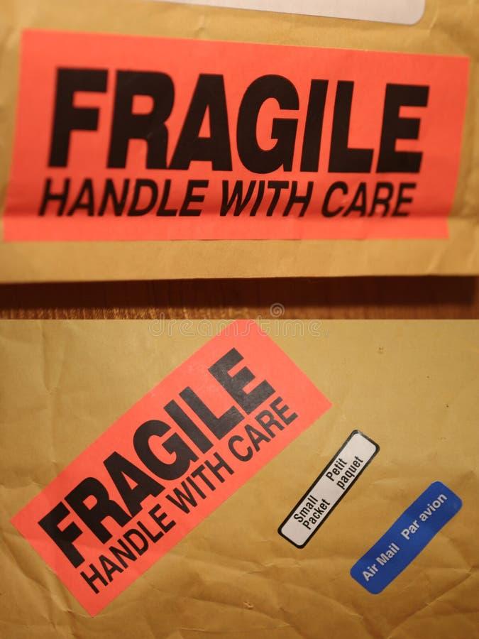 Fragile Immagine Stock