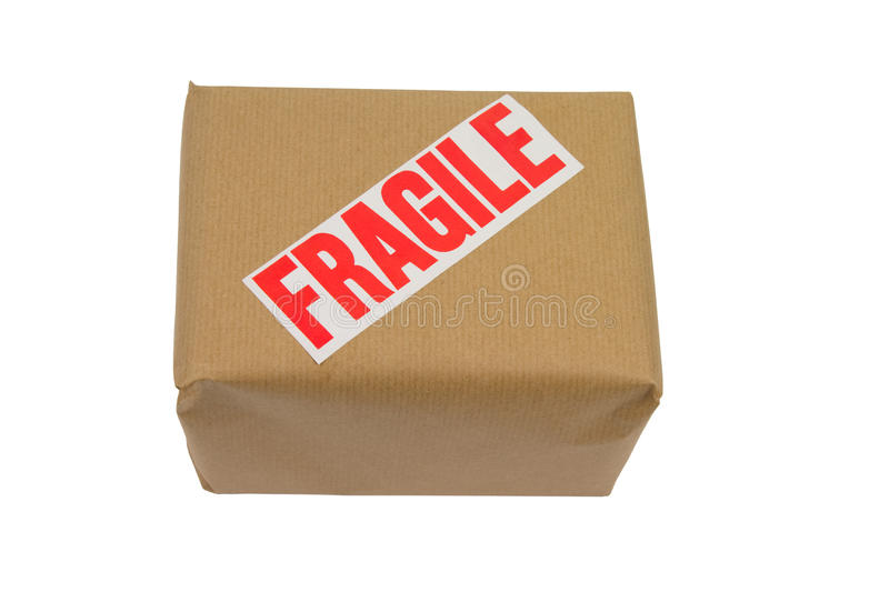 Download Fragile box stock image. Image of recycle, mail, present - 12878887