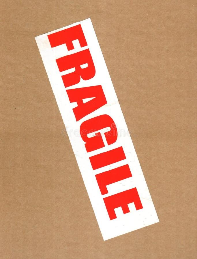 Download Fragile on cardboard stock image. Image of cardboard, carton - 8614949