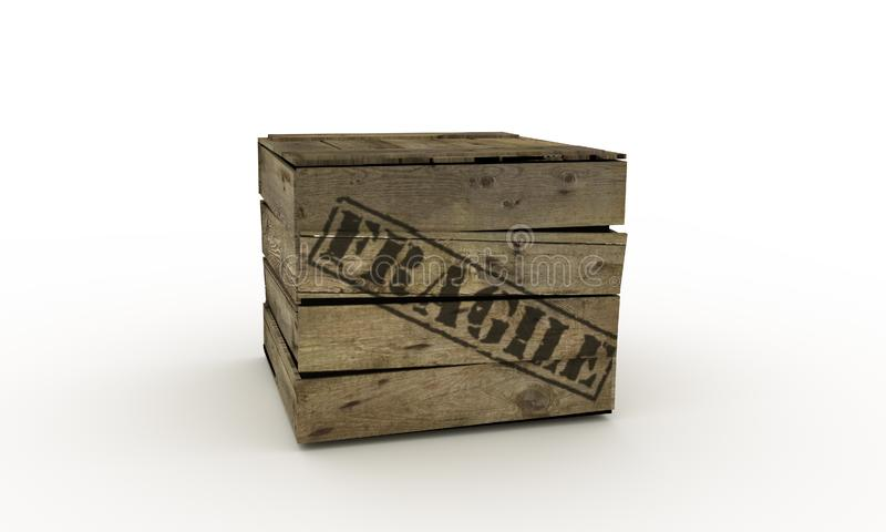 Fragile crate
