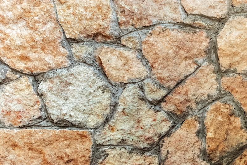 Fragment av en stenvägg arkivbilder