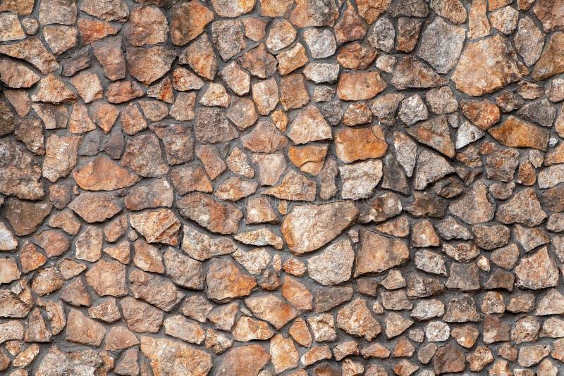 Fragment av en vägg från en kanstött sten arkivbild