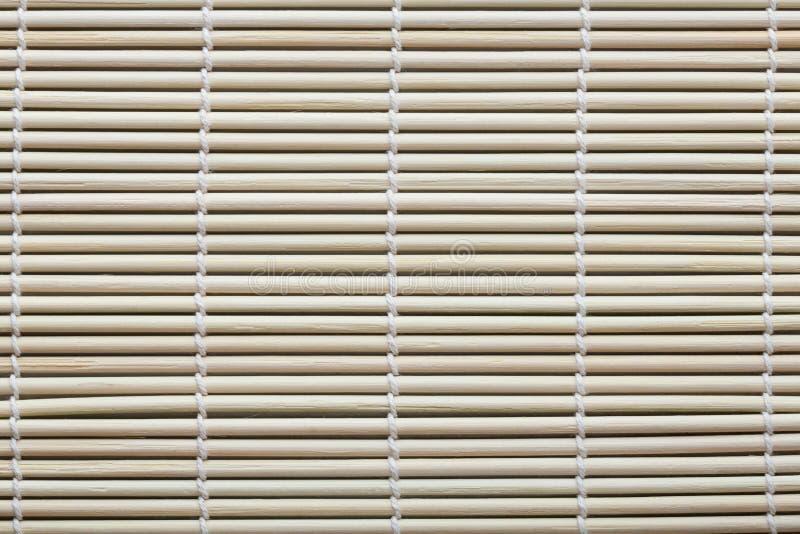 Fragment Of Bamboo Mat Stock Photo