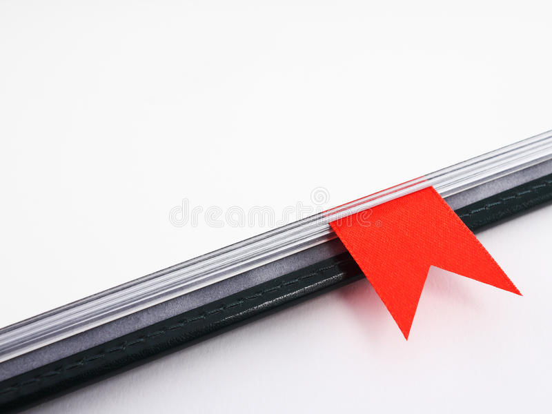 Download Fragment Of Blank Business Diary With Copy Space Stock Image - Image: 21675187
