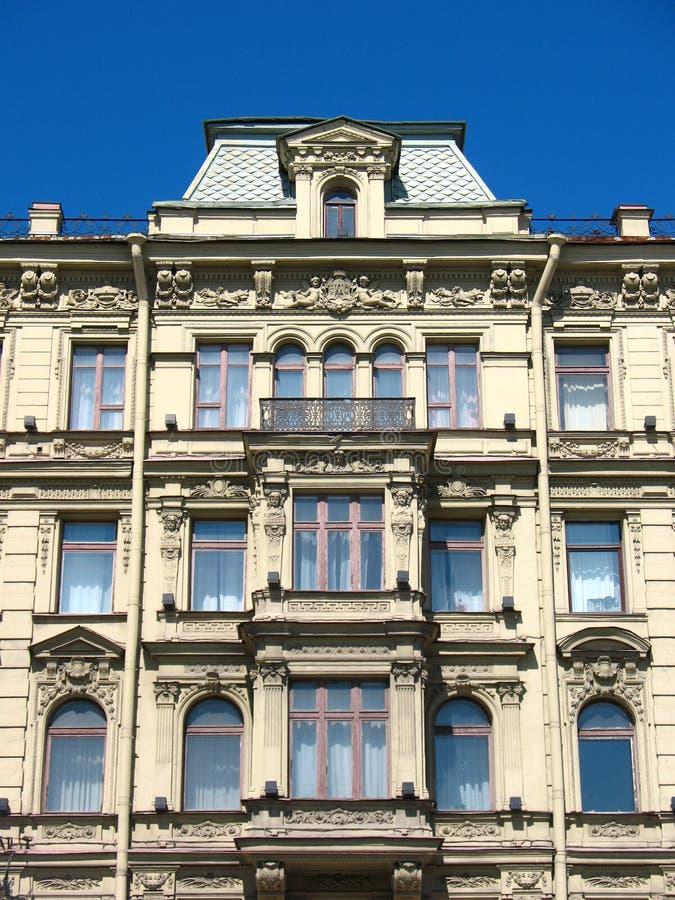 Download Fragment Of A Building Facade On Nevsky Prospekt Stock Image - Image: 13191783