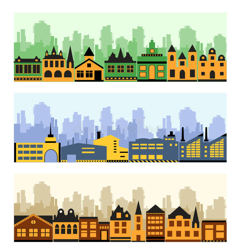 Download Fragment of the city stock vector. Image of space, architecture - 22194433