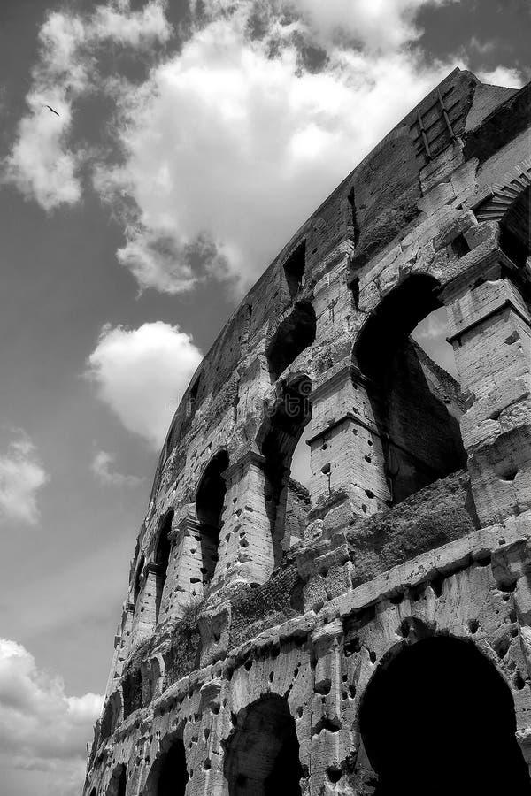Fragment of Coliseum. stock image