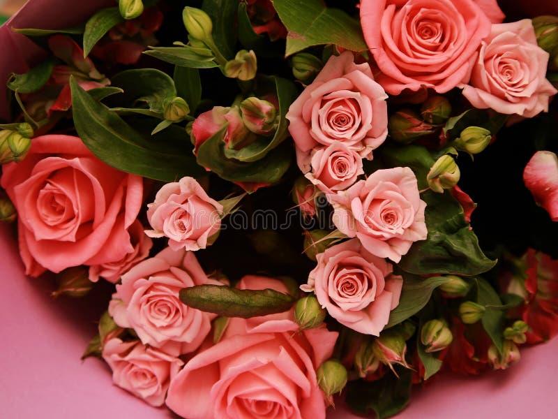 Fragment d'un bouquet des fleurs photos stock