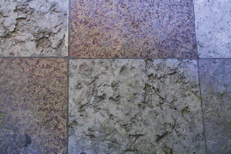 Fragment d'un vieux plancher en pierre dans Peter et Paul Cathedral à St Petersburg, Russie photographie stock libre de droits