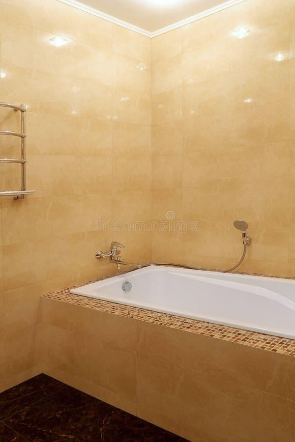 Fragment d'une salle de bains de luxe image stock