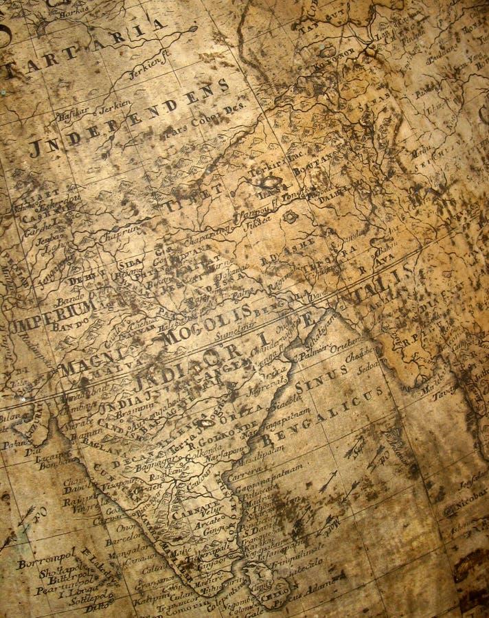 fragment de carte antique illustration libre de droits