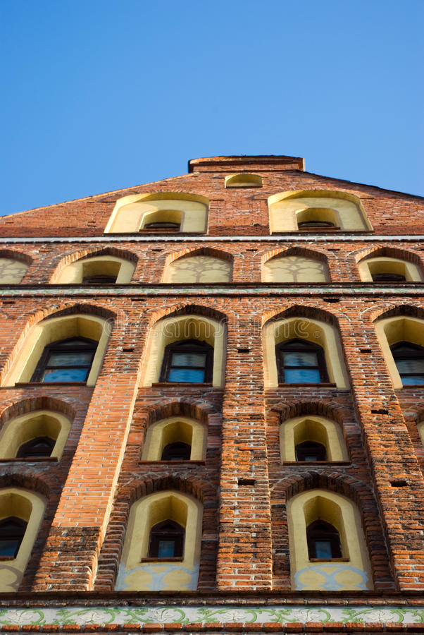 Fragment de cathédrale de Kaliningrad (Konigsberg) photos stock
