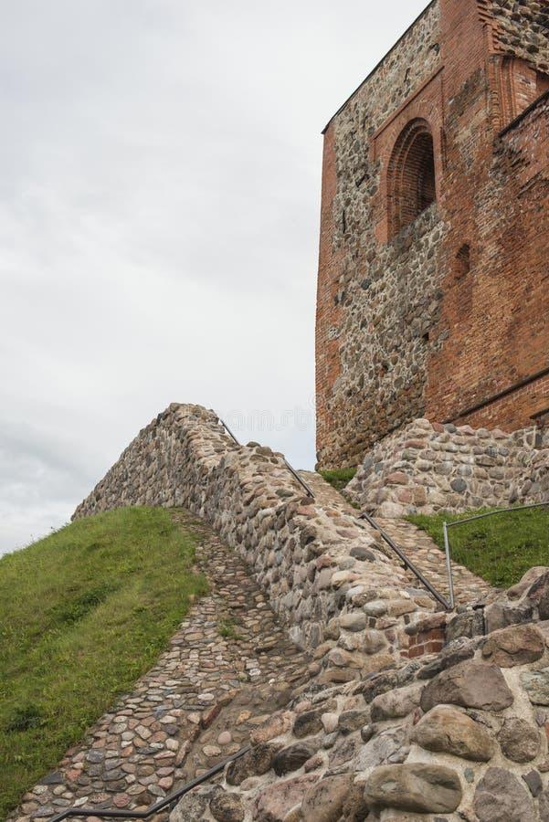 Fragment de château supérieur image stock