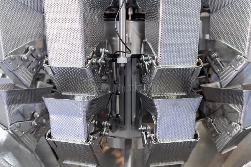 Fragment de machine de pesage automatique images stock