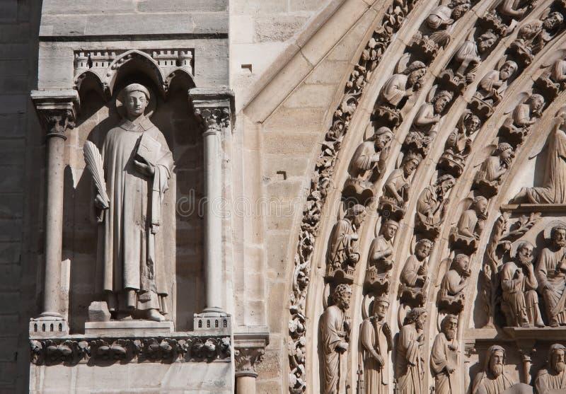 Fragment De Notre Dame Image libre de droits