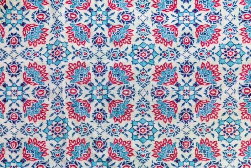 Fragment de rétro tissu de textile de tapisserie images stock