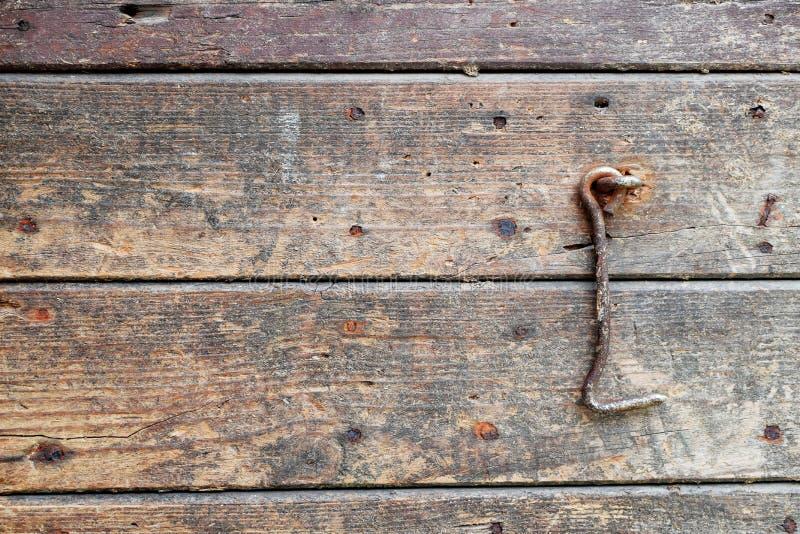 Fragment de vieille porte en bois naturelle photos libres de droits