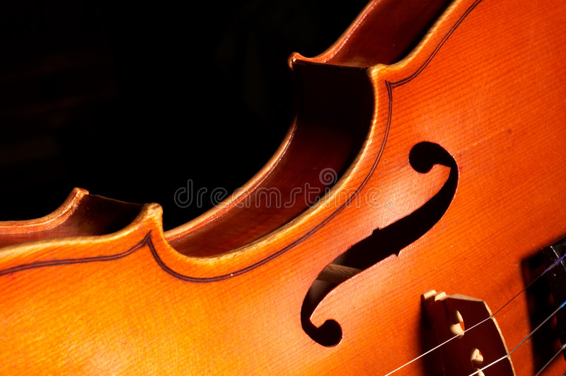 Fragment De Violon Images libres de droits