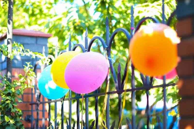 Fragment decor, children`s holiday decorations, birthday, holida stock images