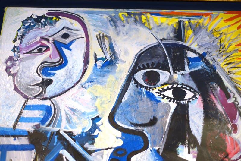 Fragment des Bildes der abstrakten Kunst stockbild