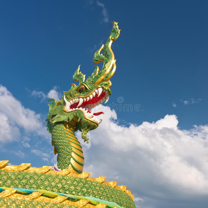 Download Fragment of dragon statue stock image. Image of statue - 26168731