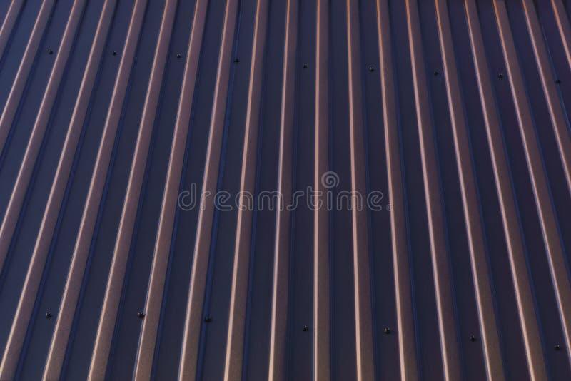 Fragment du toit de fer photographie stock libre de droits