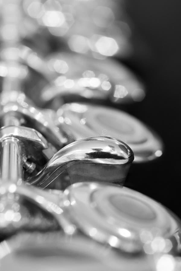 Fragment einer Flöte stockfotos