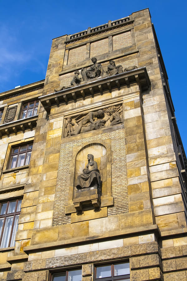 Download Fragment Of The Facade Of The Ministry Of Industry And Commerce Stock Image - Image: 29284999