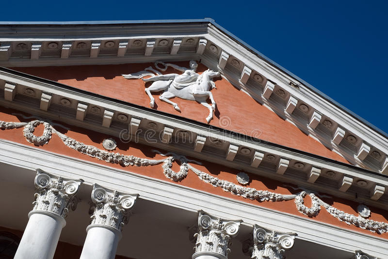 Download Palace facade fragment stock image. Image of building - 30110105