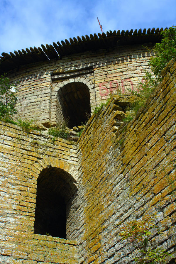 Download A Fragment Of The Fortress Wall Stock Photo - Image: 29002726