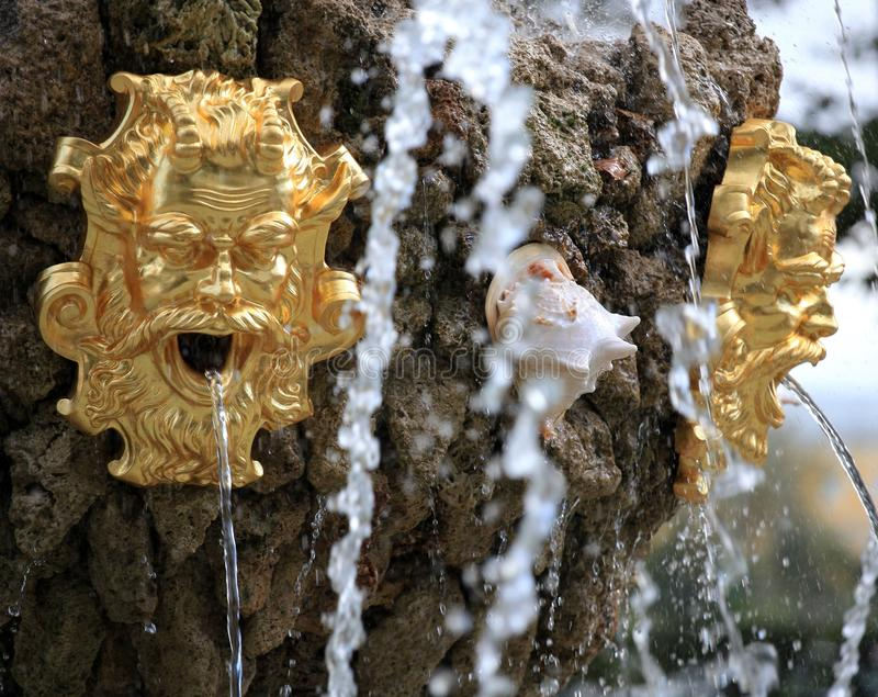 Fragment Of A Fountain Royalty Free Stock Images