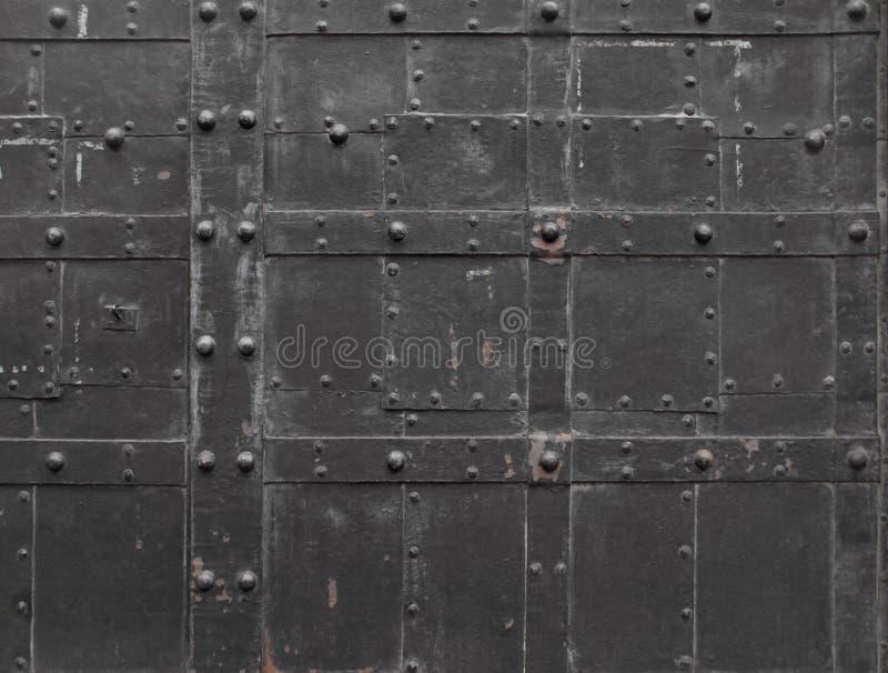 Fragment of Iron door. In Vienna, Austria stock image