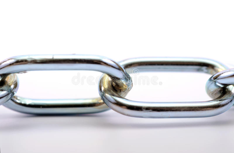 Download Fragment Of Links Of A Chain Close Up Stock Photo - Image: 30467682